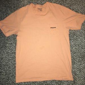 Patagonia men's orange T-shirt size medium